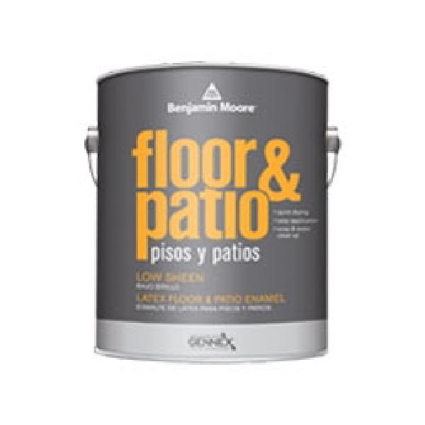 Picture of Benjamin Moore N12201-004 Floor and Patio Enamel, White, 1 qt Package