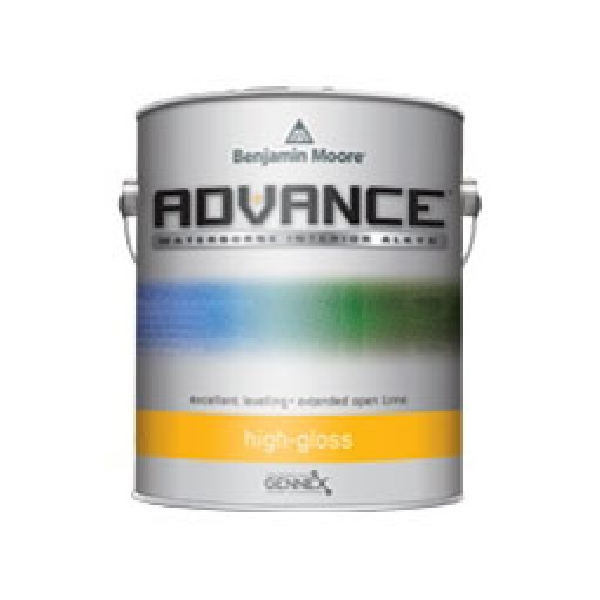 Picture of Benjamin Moore ADVANCE N79401-001 Interior/Exterior Alkyd, High-Gloss, White, 1 gal Package