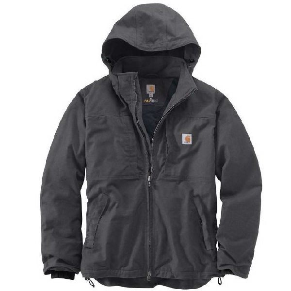 Picture of Carhartt Full Swing 102207-029-REG-L Cryder Jacket, L, Men's, Fits to Chest Size: 42 to 44 in, Shadow, Regular