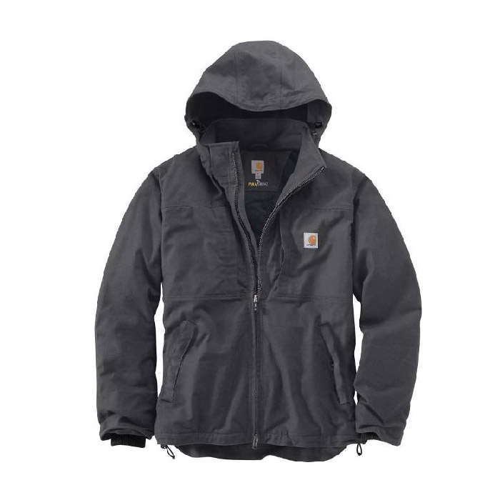 Picture of Carhartt Full Swing 102207-029-REG-2XL Cryder Jacket, 2XL, Men's, Fits to Chest Size: 50 to 52 in, Shadow, Regular