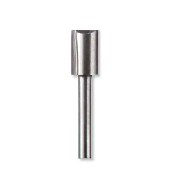 Picture of DREMEL 654 Straight Router Bit, 1/4 in Dia Cutter, 2-1/2 in OAL, 1/8 in Dia Shank, 1 -Cutter, HSS