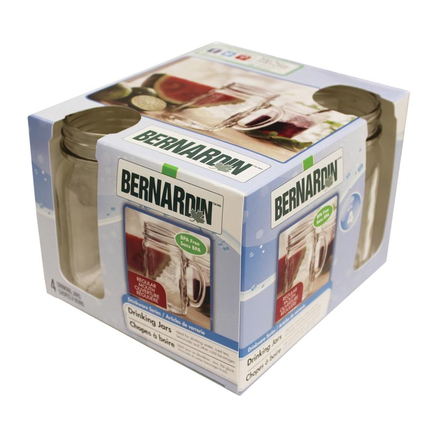 Picture of BERNARDIN 6052815050 Jar Mug, 16 oz Capacity