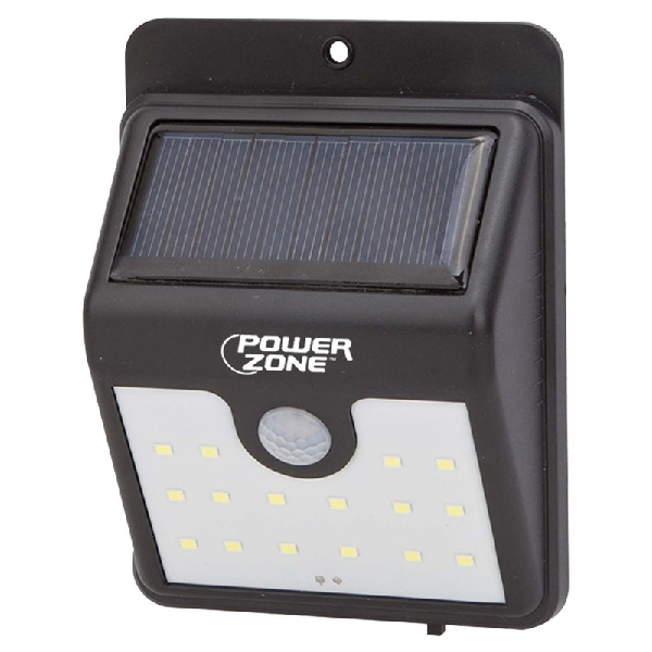 Picture of PowerZone 12539 Solar Light Motion, LED Lamp, 120 Lumens