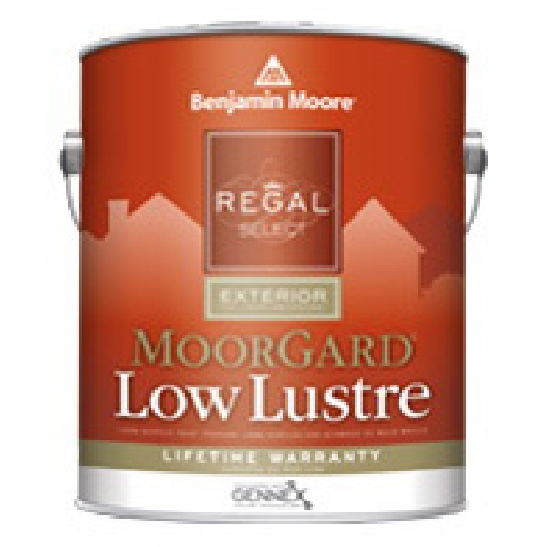 Picture of Benjamin Moore Regal Select MoorGard W1031X-001 Exterior Paint, Low Luster, 1 gal Package