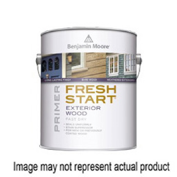Picture of Benjamin Moore FRESH START 009400-004 Exterior Wood Primer, White, 1 qt