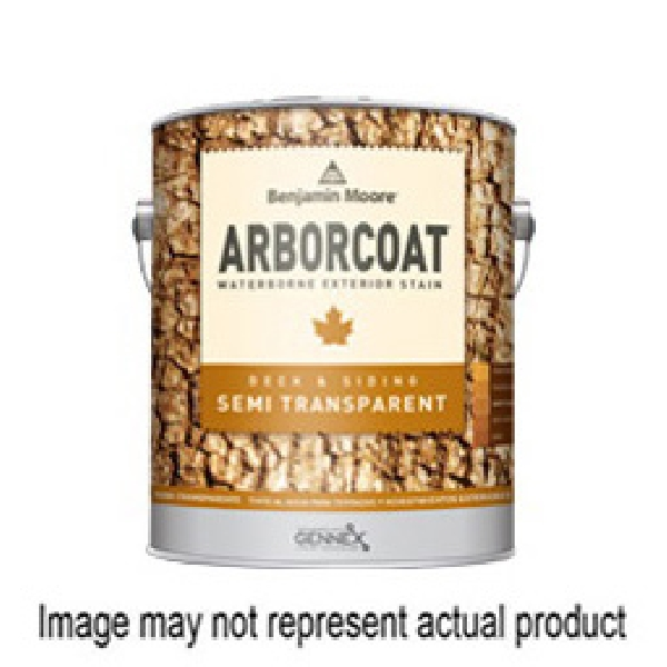 Picture of Benjamin Moore Arborcoat N63820-008 Exterior Stain, Flat, Red, Liquid