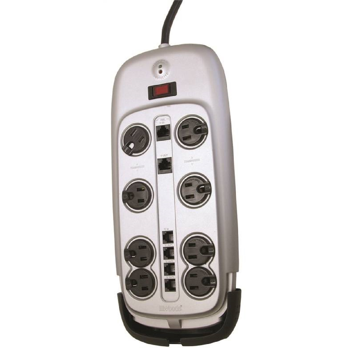 Picture of Woods 546521 Surge Protector, 8-Outlet, 3345 J Energy