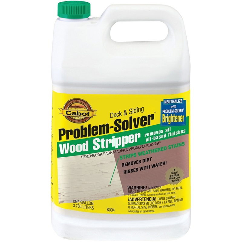 Picture of Cabot 8004 Wood Stripper, Liquid, Clear Green, 1 gal