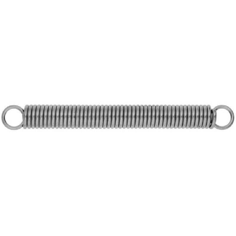 Picture of HILLMAN 540608 Extension Spring, 8-1/2 in L, Steel, Zinc-Plated