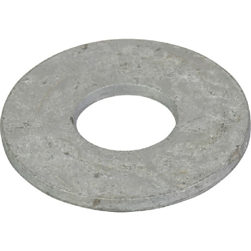 Picture of HILLMAN 660839 Flat Washer, 3/8 in ID, 7/16 in OD, Galvanized, 1675, Box