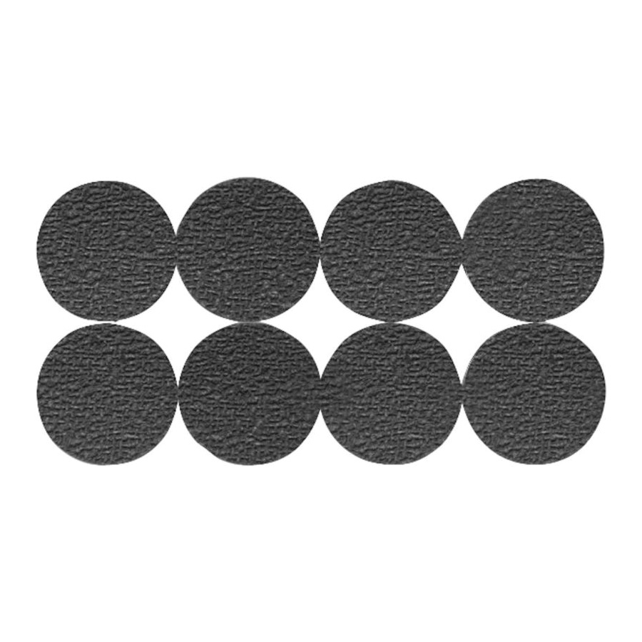 Picture of Shepherd Hardware 3602 Non-Slip Pad, Foam, Black, 1 in Dia, Round
