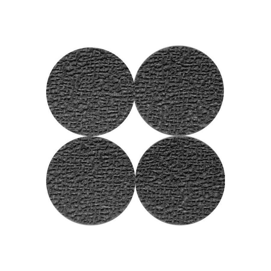Picture of Shepherd Hardware 3603 Non-Slip Pad, Foam, Black, 1-1/2 in Dia, Round