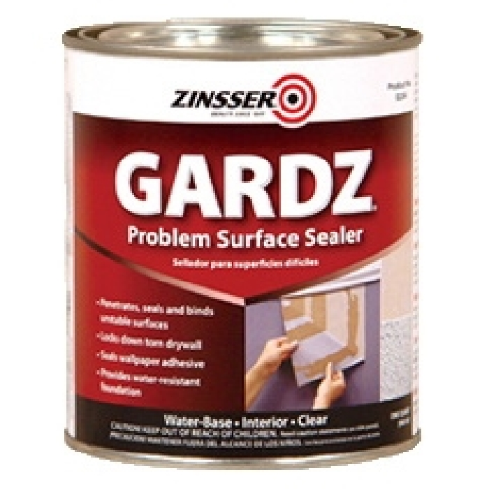 Picture of ZINSSER 02304 Problem Surface Sealer, Clear, 1 qt