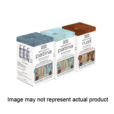 Picture of MODERN MASTERS Metal Effects 306270 Oxidizing Finish Kit, Green Patina, 2 oz