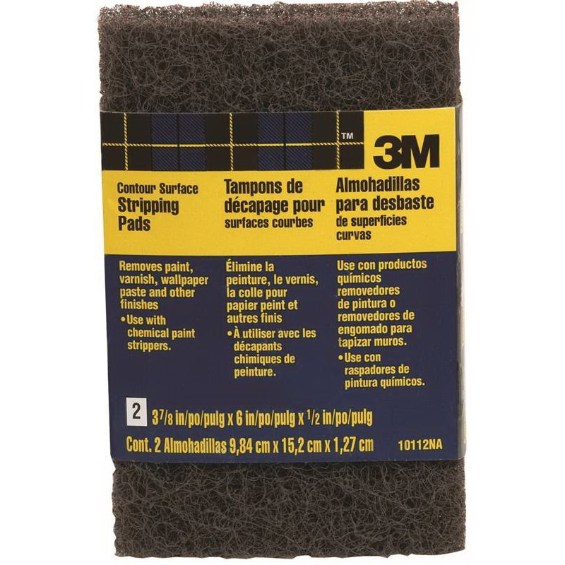 Picture of 3M 10112NA Stripping Pad, Brown