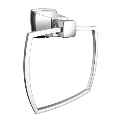 Picture of Moen Boardwalk Y3286CH Towel Ring, Aluminum/Zinc, Chrome, Screw Mounting