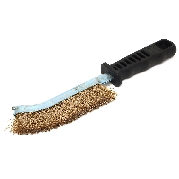 Picture of Forney 70516 Handle Scratch Brush, Steel Bristle, 13-3/4 in OAL