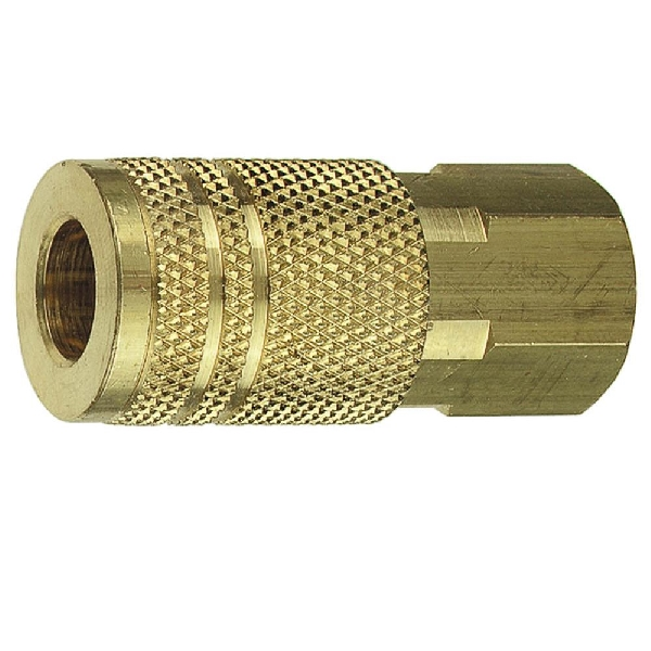 Picture of Forney 75240 Coupler, 1/4 in, Coupling x FNPT, Brass
