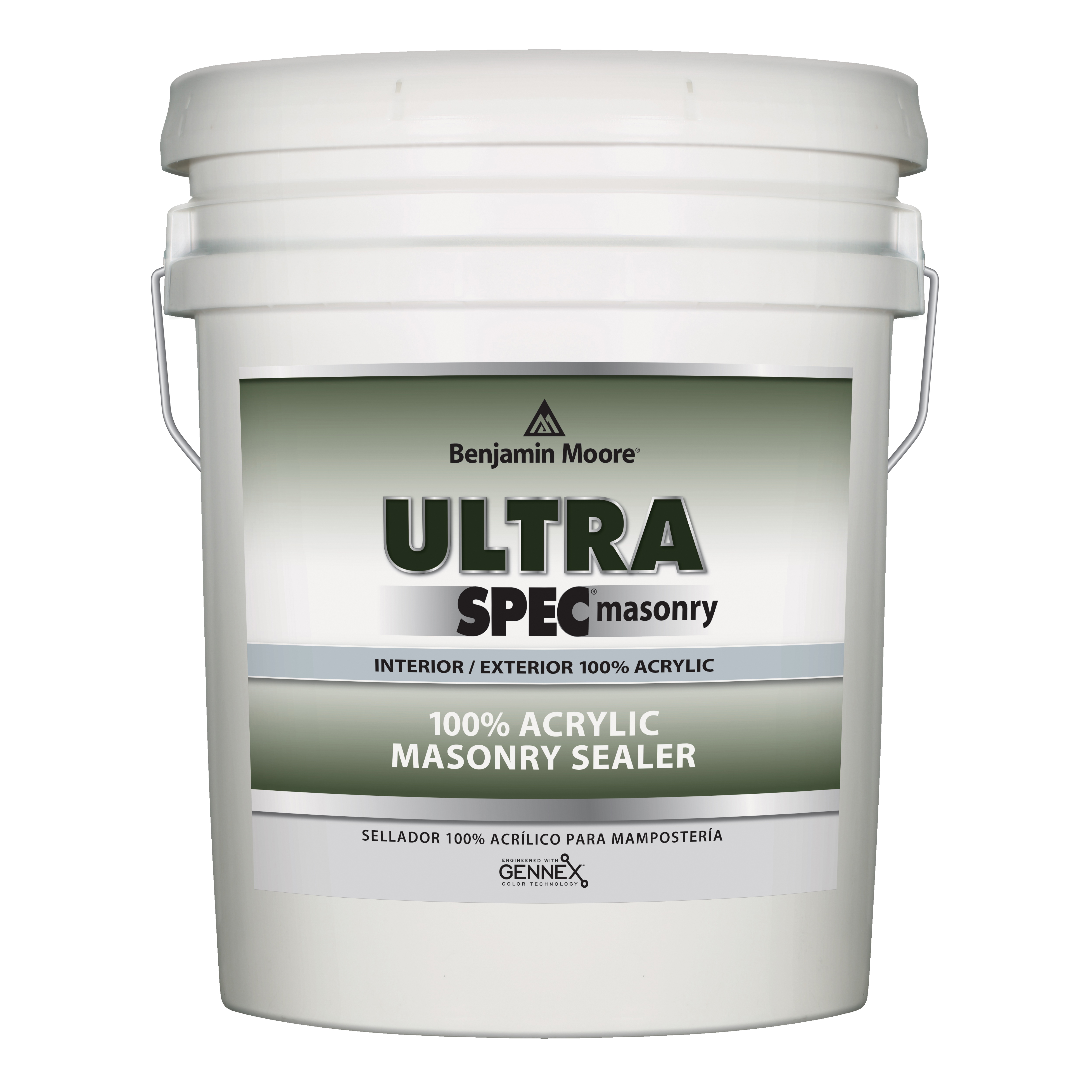 Picture of Benjamin Moore 060801-005 Masonry Sealer, White, Liquid, 5 gal Package, Can