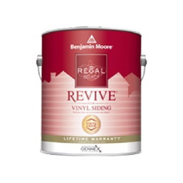 Picture of Benjamin Moore Regal REVIVE 05441X-001 Exterior Paint, Low-Luster, Pastel Base, 1 gal Package