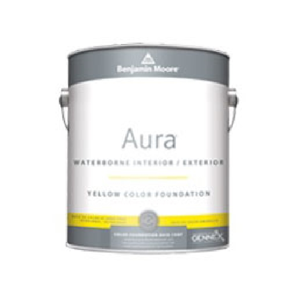 Picture of Benjamin Moore Aura 052120-004 Interior/Exterior Paint, Eggshell, Red, 1 qt Package