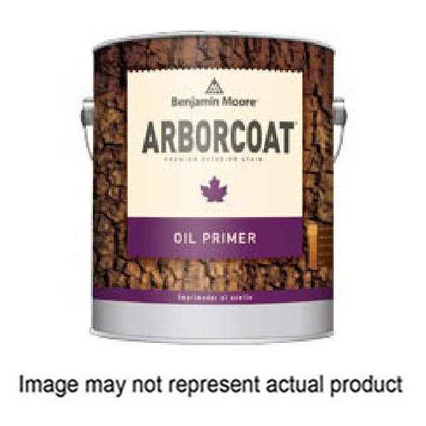 Picture of Benjamin Moore ARBORCOAT 036604-001 Exterior Oil Primer, Low-Luster, Deep Base, 1 gal