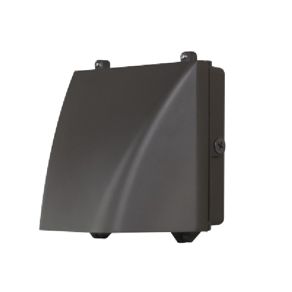 Picture of ETI 53307361 Wall Pack, 120 to 277 V, 20 W, LED Lamp, 100 deg Beam, 2600 Lumens, 5000 K Color Temp
