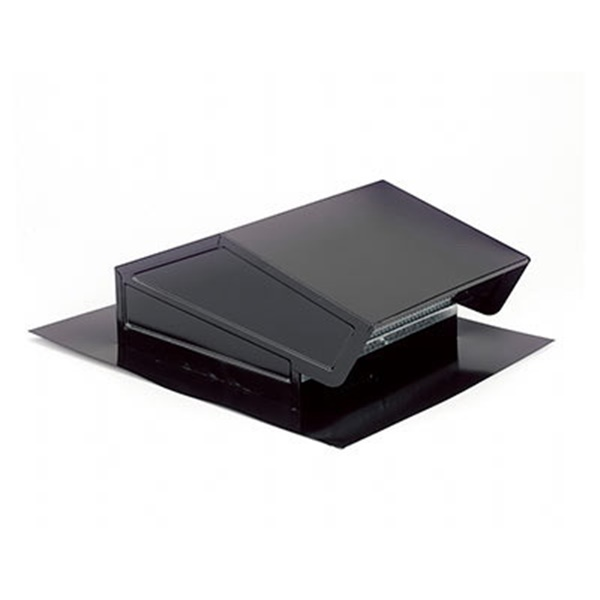 Picture of Broan 634 Roof Cap, Steel, Black, Epoxy, For: LoSone Fans and Bath Ventilation Fans, 1, Pack
