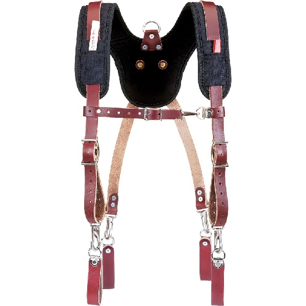 Picture of Occidental Leather 5055 Suspension System, Fabric/Leather, Black