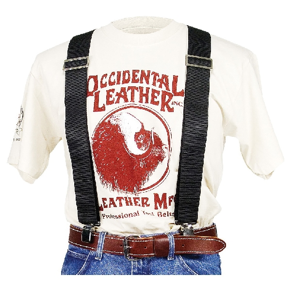 Picture of Occidental Leather 9020B Suspender, Nylon, Black