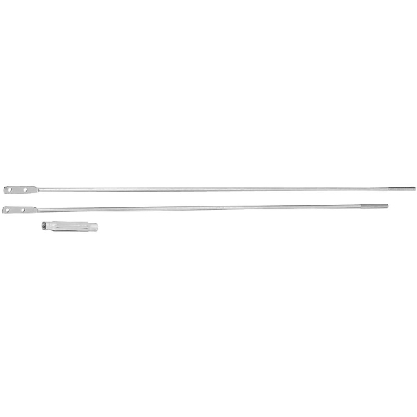 Picture of National Hardware N117-564 Turnbuckle, 41.88 in L, Aluminum/Steel, Zinc