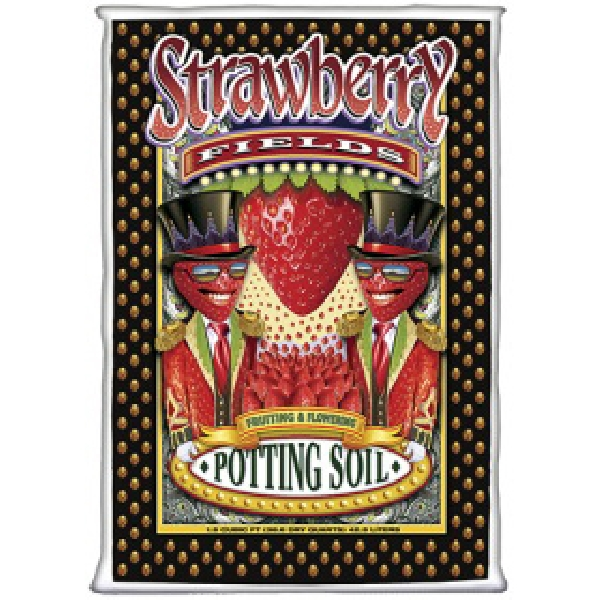 Picture of Strawberry Fields 59104 Potting Soil, 1.5 cu-ft Coverage Area, Brown