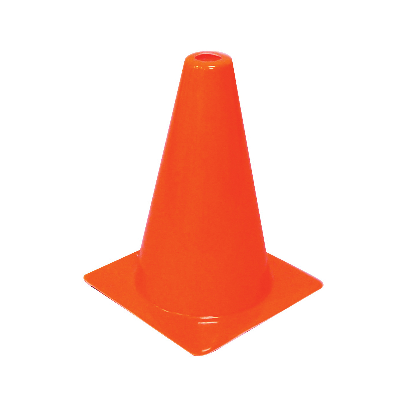 Picture of HY-KO SC-12 Traffic Safety Cone, 12 in H Cone, Vinyl Cone, Fluorescent Orange Cone