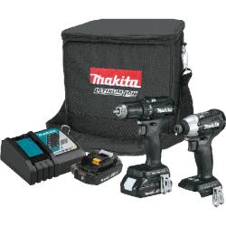 Picture of Makita CX200RB 2-Tool Combo Kit, 2 -Tool, Tools Included: Yes, Battery Included: Yes