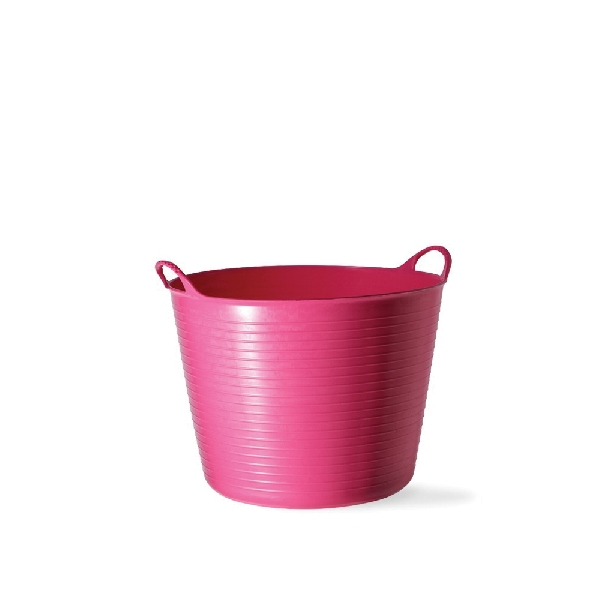 Picture of RED GORILLA SP14PK Small Tub, 13 in W, 3.7 gal Capacity, Plastic, Pink