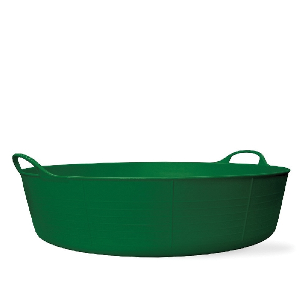 Picture of RED GORILLA SP35G Large Shallow Tub, 23 in W, 9.2 gal Capacity, Plastic, Green