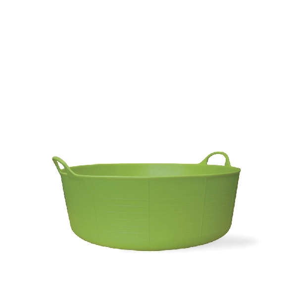 Picture of RED GORILLA SP15PST Small Shallow Tub, 15-1/2 in W, 4 gal Capacity, Plastic, Pistachio