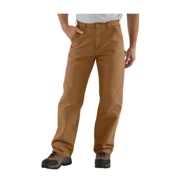 Picture of Carhartt B11-BRN-32X34 Pant, 32 in Waist, Brown, Loose