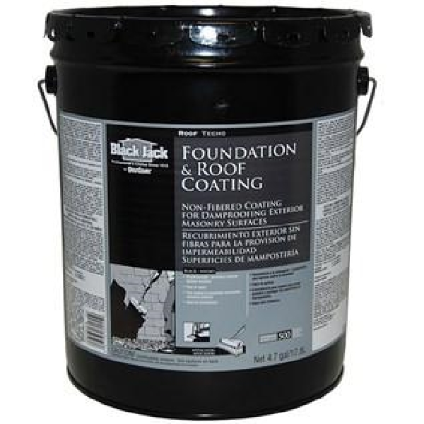 Picture of Black Jack 6025-9-30 Non-Fibered Coating, Black, 5 gal, Container, Liquid