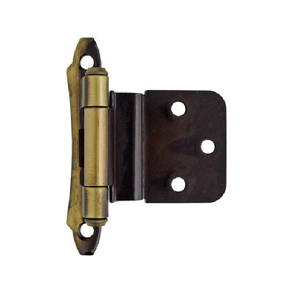 Picture of Amerock BPR7928AE Hinge, 3/8 in Inset, Antique Brass