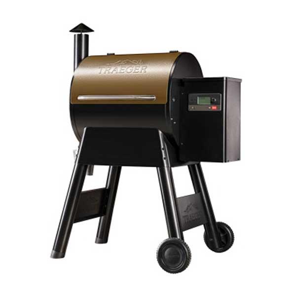 Picture of Traeger Pro Series 575 TFB57GZE Pellet Grill, 36,000 BTU, Bronze