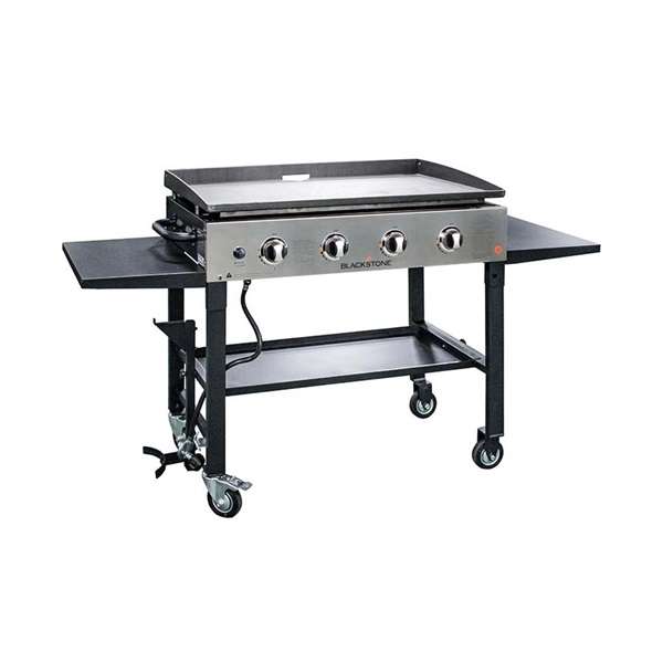 Picture of BLACKSTONE 1565 Griddle Cooking Station, 60,000 Btu BTU, Propane, 4 -Burner, 720 sq-in Primary Cooking Surface