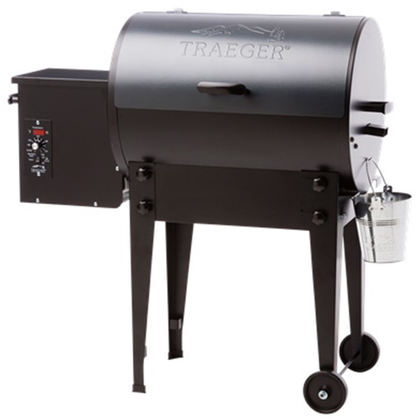 Picture of Traeger TFB30LUB Pellet Grill, 19,500 Btu BTU, 300 sq-in Primary Cooking Surface, Blue