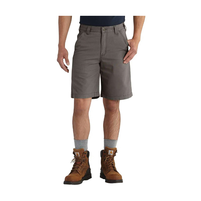 Picture of Carhartt 102514-039-31 Rigby Shorts, 31 in, Cotton/Spandex, Gravel