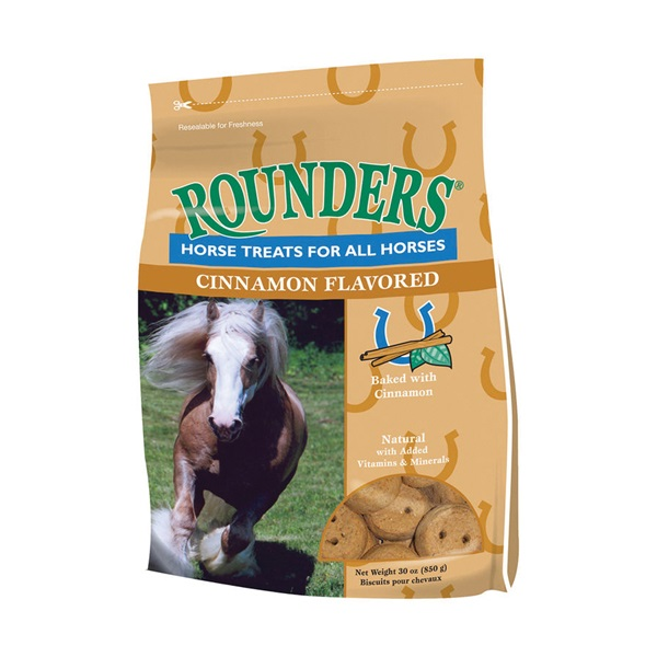 Picture of Blue Seal Rounders 1520 Horse Treat, Cinnamon Flavor, 30 oz Package, Bag