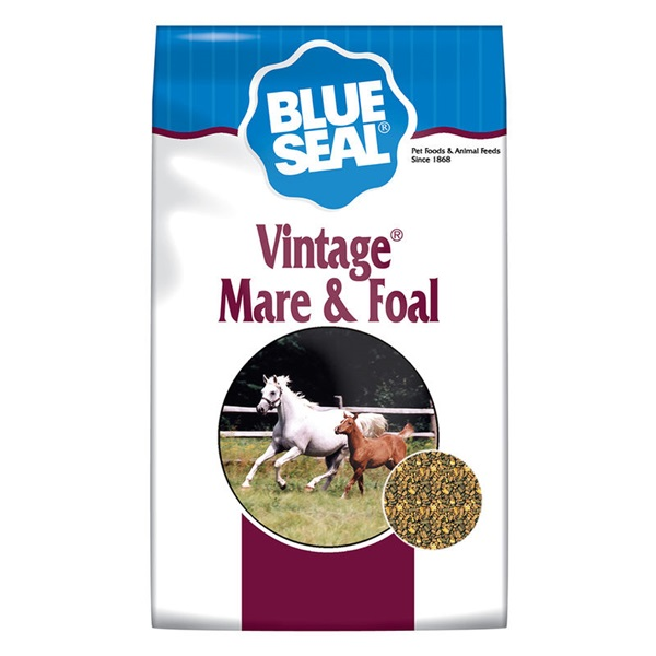 Picture of Blue Seal 423 Vintage Mare and Foal, Textured, 50 lb Package, Bag