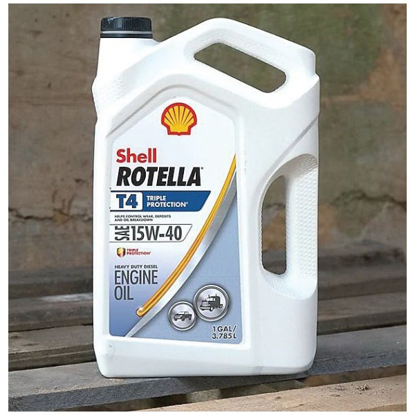 Picture of Shell Rotella 550045126 Diesel Oil, 15W-40, 1 gal Package