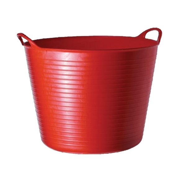 Picture of RED GORILLA SP42R Tub, 38 L Capacity, Plastic, Red
