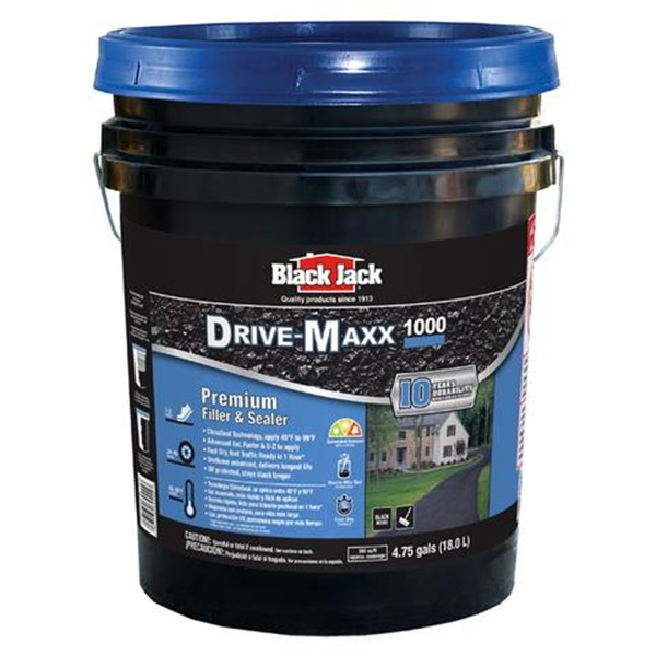 Picture of Black Jack Drive-Maxx 1000 6455-9-30 Premium Filler and Sealer, Liquid, Black, 5 gal Package, Pack