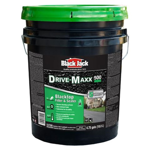 Picture of Black Jack Drive-Maxx 500 6452-9-30 Blacktop Filler and Sealer, Liquid, Black, 5 gal Package, Pack